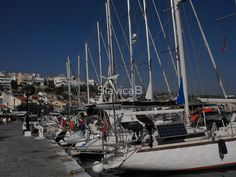 Samos Island harbor  #photography