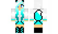 minecraft skin Blue-Wolf-EDIT Find it with our new Android Minecraft Skins App: https://play.google.com/store/apps/details?id=studio.kactus.girlskins