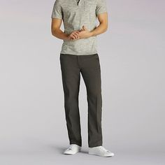 d65627ef4 Lee Men s Extreme Comfort Refined Pants - Big   Tall (Size 46 x 28)