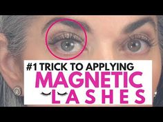 #1 Trick TO APPLYING MAGNETIC LASHES | Nikol Johnson - YouTube