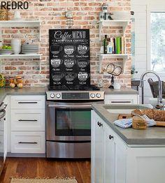 inspiracje w moim mieszkaniu: Fototapeta dekoracją kuchni / Wall decoration kitchen