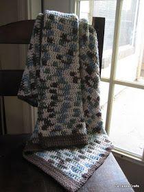 Baby Boy Blanket handmade by CarrieBeeCrafts
