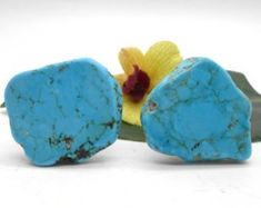 Knobs, Stone Knobs, Cabinet Knobs, Turquoise -Set of Stone Cabinet Knobs, Kitchen Knobs and Pulls Recycled Furniture, Unique Furniture, Shabby Chic Furniture, Vintage Furniture, Urban Furniture, Turquoise Cabinets, Turquoise Kitchen, Kitchen Knobs And Pulls, Beach Cottage Decor