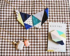 Homako fabric jewelry