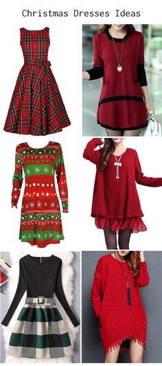 Christmas dress ideas. #StyleIdeas #Christmas