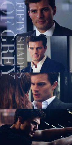 Shades of Grey - Christian Grey - Jamie Dornan 50 Shades Trilogy, Fifty Shades Series, Fifty Shades Movie, Christian Grey, Jamie Dornan, Shades Of Grey Film, Fifty Shades Darker, Mr Grey, Fifty Shades Trailer
