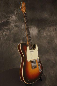 original 1960 Fender CUSTOM TELECASTER Sunburst SLAB BOARD!!! pre-CBS!!! | eBay
