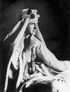"""T. E. Lawrence...........""""All men dream: but not equally. Those who dream by night in the dusty recesses of their minds wake in the day to find that it was vanity: but the dreamers of the day are dangerous men, for they may act their dreams with open eyes, to make it possible. This I did."""""""