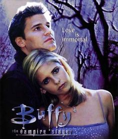 Before Bella and Edward (blech) there was. Buffy and Angel. Buffy and Angel are so much better Best Tv Shows, Best Shows Ever, Favorite Tv Shows, Sarah Michelle Gellar, Joss Whedon, Serie Vampire, Buffy Summers, Kino Film, David Boreanaz