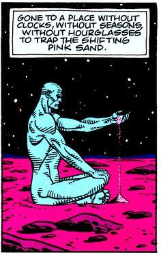 "thecomicsvault: "" Alan Moore Dave Gibbons WATCHMEN IV (December '86) """