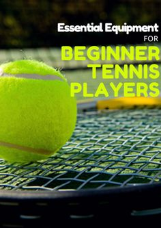 Tennis is an easy sport when it comes to equipment. You only need a strung tennis racket, balls and athletic clothes as a bare minimum. But, at deeper inspection, you need slightly more than that. Essential Equipment for Beginner Tennis Players http://www.activekids.com/tennis/articles/essential-equipment-for-beginner-tennis-players?cmp=17N-DP10-BND20-SD80-DM10-T9-05102017-778