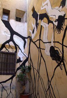 DAVID DE LA MANO http://www.widewalls.ch/artist/david-de-la-mano/ #DaviddelaMano #streetart #mural #urbanart