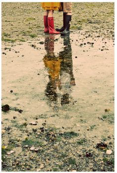 """the world is mud-luscious and puddle-wonderful."" (e.e. cummings).  > wanna have tis pic one day <3"