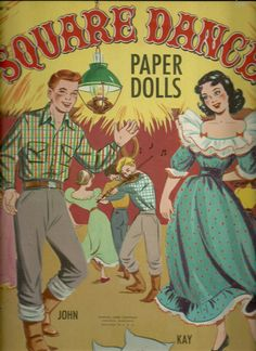 1950 Lowe Square Dance paper dolls