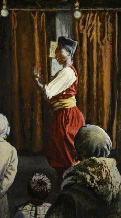 laura sylvia gosse(1881–1968), dancing negro. oil on canvas, 110.9 x 62.2 cm. museums sheffield, uk http://www.bbc.co.uk/arts/yourpaintings/paintings/dancing-negro-72301