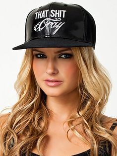 That Shit Cray Cap - Nly Accessories - Zwart - Overige Accessoires - Accessoires - Vrouw - Nelly.com