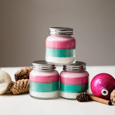 Layered Candles Tutorial
