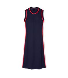 SLEEVELESS TRACK DRESS