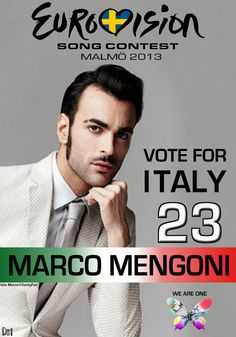#eurovision #MengoniESCItaly
