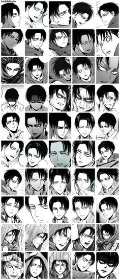Okay but not just with Levi's character, but Isayama's art has improved so much over the years and I love it / levi ackerman attack on titan snk