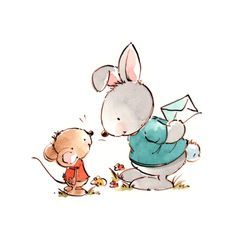 Mikki Butterley - Rabbit and mouse.jpg