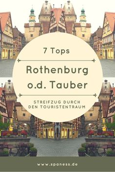 Rothenburg ob der Tauber - Stopp auf dem Roadtrip auf der Burgenstraße - 7 Top Tipps!