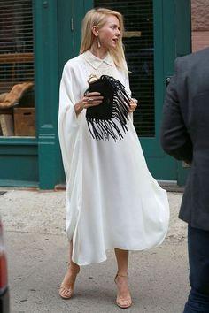 Gardrop Kedisi: Trend: Uzun gömlek elbise