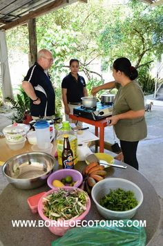 Learn how to cook local Sabah food! Checkout our Culinary Tour  http://www.borneoecotours.com/tours_view.php?id=10!