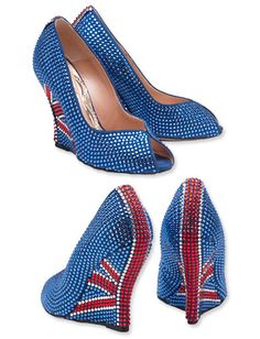 The #DiamondJubilee: Aruna Seth's Jubilee Crystal Wedges via @InStyle Magazine