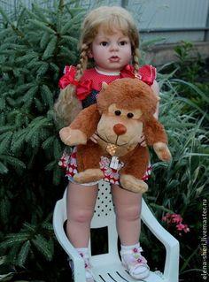 Куклы-младенцы и reborn ручной работы. Ариша.. Куклы-реборн Елены Иваховой. Ярмарка Мастеров. Елена ивахова, глаза стеклянные