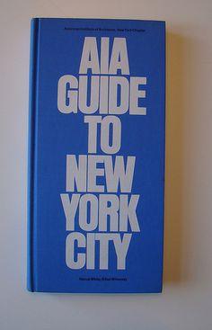 AIA Guide to New York City, design: Herb Lubalin / 1969 / The Macmillan Company