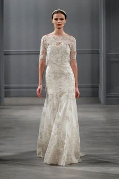 Darcelle wedding dress Monique Lhuillier