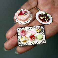 Mini food, desserts