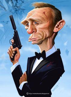Caricatura-de-Daniel-Craig-como-James-Bond-2-600x817.jpg (600×817)