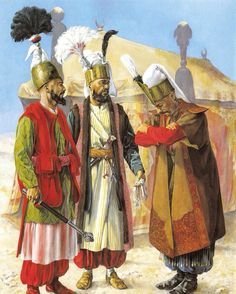 Ottoman empire by ~ Byzantinum The Silk Road was a network of trade routes… Military Art, Military History, Military Uniforms, Les Balkans, Empire Ottoman, Ottoman Turks, Turkish Army, Turkish Military, Armadura Medieval