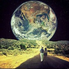Walking to the moon *o*