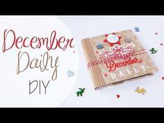 Tutorial: Diario Natalizio - ENG SUBS December Daily DIY - YouTube