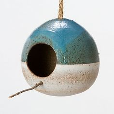 Terrain Mineral Birdhouse by Heather Levine