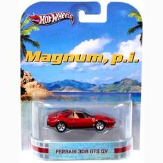 Ferrari 308 GTS of Magnum (Tom Selleck) - Magnum - Scale model Custom Hot Wheels, Hot Wheels Cars, Christmas Gifts For Boys, Christmas Wishes, Toy Corner, Hot Wheels Display, Wish Gifts, Old School Toys, Weird Cars