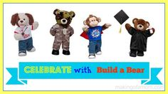 Celebrate with Build A Bear + Giveaway | Making of a Mom