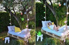 NapadyNavody.sk   38 šialene kreatívnych nápadov na záhradný nábytok, s ktorými načerpáte inšpirácie