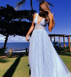 A line blue lace prom dress Monday Dressing Prom Dresses Under 100, Cheap Prom Dresses, Formal Dresses, Blue Lace Prom Dress, Popular Dresses, Sweet Style, The Costumer, Chicano, Senior Prom