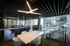 One of the Institute's five floors at 41X by Lyons, with workplace interiors by Hassell.