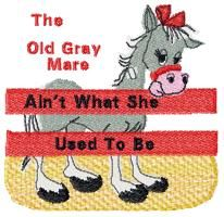 """Southern … """"the old grey mare ain't what she used to be""""- my 86 year old grandmother, NELDA, says this all the time!! ❤️❤️"""