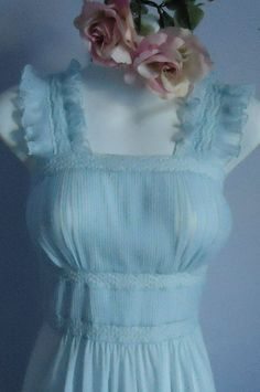 Vintage1940's  Luxite by Holeproof Pale Blue by MadMakCloset, $140.00