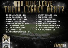 2014 Signing Class for UCF Football Ucf Football, Mike Rogers, Chris Davis, Chris Williams, Ucf Knights