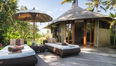 One of the luxury safari-style tents at Sandat Glamping Tents in Bali. The resort, situated on the outskirts of Ubud is among five new properties to have joined the Secret Retreats community. ...