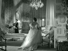 Rebecca's grand bedroom in the classic film 2