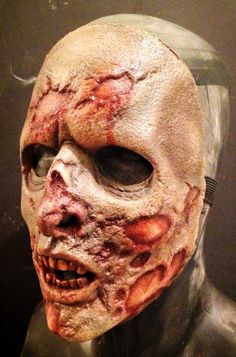 Mask for Trick Or Treat Studios The Walking Dead mask line,2014.