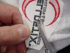 Tips for correcting embroidery mistakes